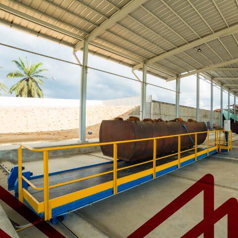 Miniatura equipos palma de aceite: Mesa de Transferencia